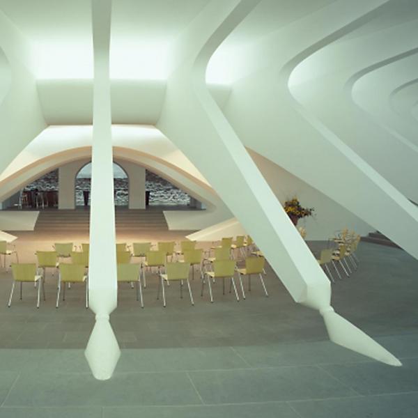 Pfalzkeller St. Gallen, ProNaturstein, Santiago Calatrava, by mtextur