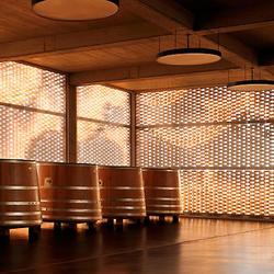 Fassade Weingut Gantenbein, Fläsch, Keller Systeme AG , Bearth & Deplazes Architekten AG, Chur / Zürich, by mtextur