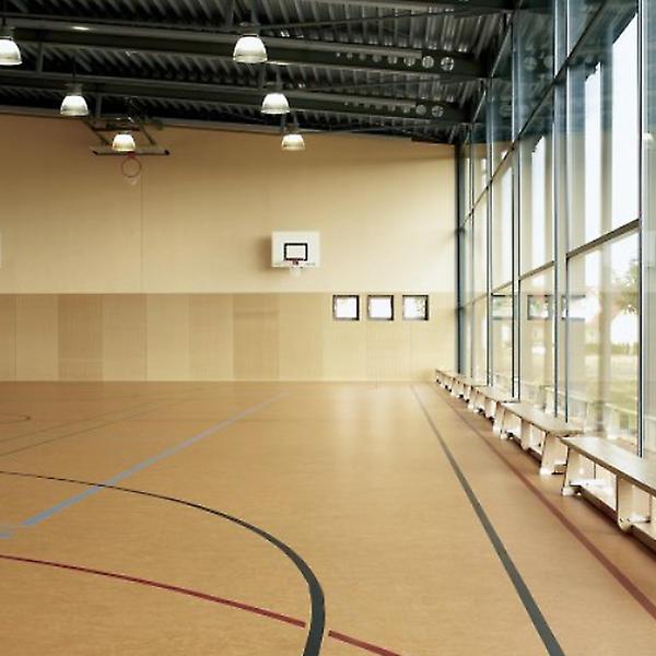 Sporthalle Auenbergschule, Forbo, Reinhard Dietz, Oderhausen, by mtextur