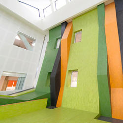 Waikato Hospital, Hamilton, New Zealand, Forbo, CJM - Joint venture, Chow Hill, Jasmax and MSJ Architects, by mtextur