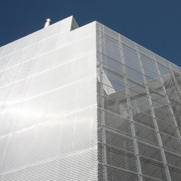 Neubau Rechenzentrum OIZ Albis, Metall Pfister, von Ballmoos Krucker Architekten AG, Zürich, by mtextur