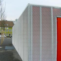 Stadtcafé Dornacherplatz, Solothurn, Metall Pfister, Werk 1 Architekten, by mtextur