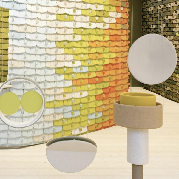 The Wool Parade, Kvadrat AG, Doshi Levien, by mtextur