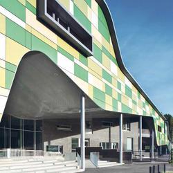 Kannisto School, Eternit (Schweiz) AG, Linja Architects, Ouulu und Helsinki, by mtextur