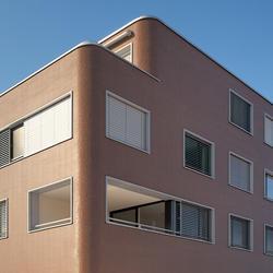 Mehrfamilienhaus Samstagern, Eternit (Schweiz) AG, Leutwyler Partner Architekten AG, Zug, by mtextur