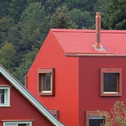Einfamilienhaus Wolfhalden, Eternit (Schweiz) AG, Hubert Bischoff, Wolfhalden, by mtextur