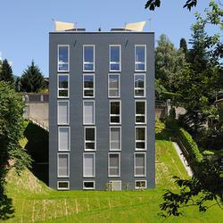 Casa Montarina, Eternit (Schweiz) AG, Lorenzo Felder, Lugano Ingenieure Borlini & Zanini SA, Pambio-Noranco, by mtextur