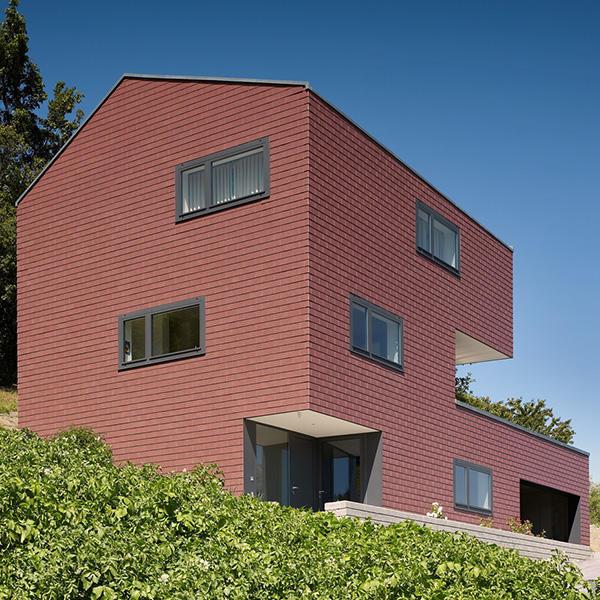Einfamilienhaus Cotter, Eternit (Schweiz) AG, Glenn Cotter, dv architectes & associés, Sion, by mtextur