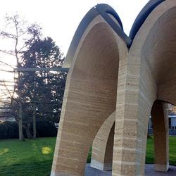 Kuppelpavillon ETH-Campus, xyz mtextur, Gian Sallis, by mtextur
