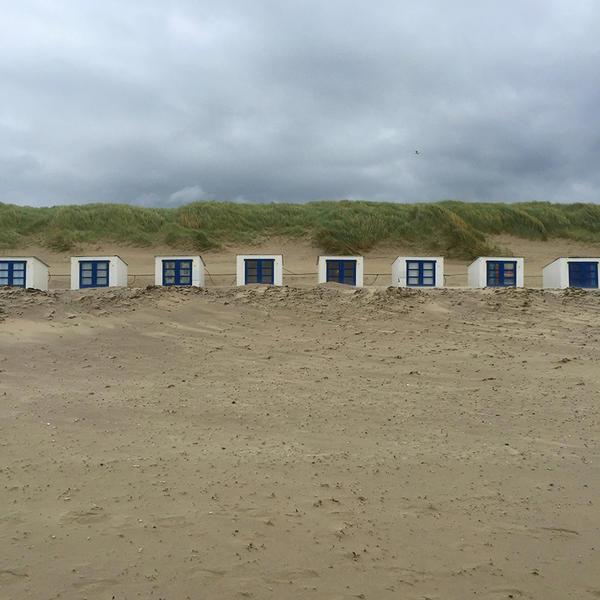 Texel Strandhäuschen, xyz mtextur, k. A., by mtextur