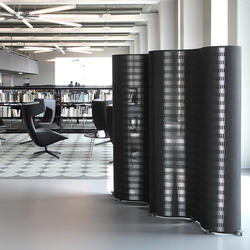 JANUS Partition MDF Black, Dukta, k. A., by mtextur