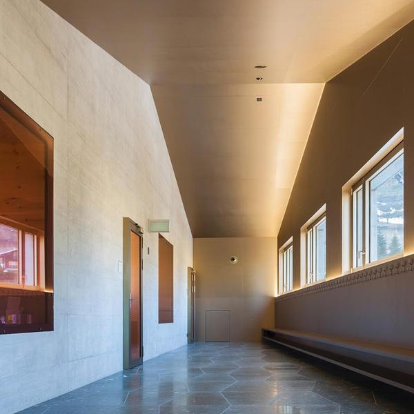 Ecole de Salvan, Argolite, bonnard woeffray / architectes fas sia, by mtextur