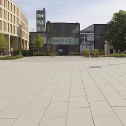 Universitäts- und Landesbibliothek, Rinn Öffentlicher Raum, WGF Objekt Landschaftsarchitekten GmbH, Nürnberg, by mtextur