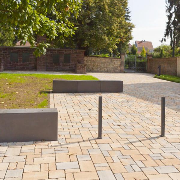 Friedhofsvorplatz, Karben 2012, Rinn Öffentlicher Raum, Stadt Karben, by mtextur