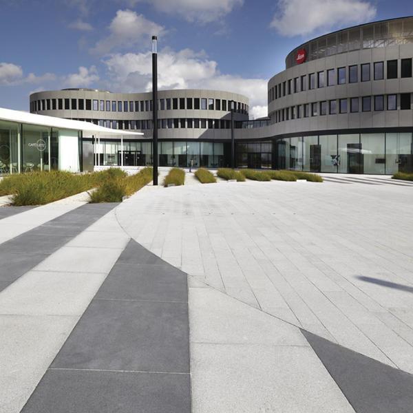 Neubau Leica, Wetzlar 2013, Rinn Öffentlicher Raum, Gruber + Kleine-Kraneburg Architekten GbR, by mtextur