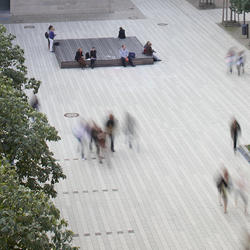 OSZ Sozialwesen II, Rinn Beton- und Naturstein , Kirk + Specht Landschaftsarchitekten, Berlin, by mtextur