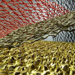 Streckmetall 3D-Maschen, Metall Pfister, k. A., by mtextur