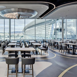 HALTOPEX – AIR Restaurant, Walo Bertschinger, Detail Design GmbH, by mtextur