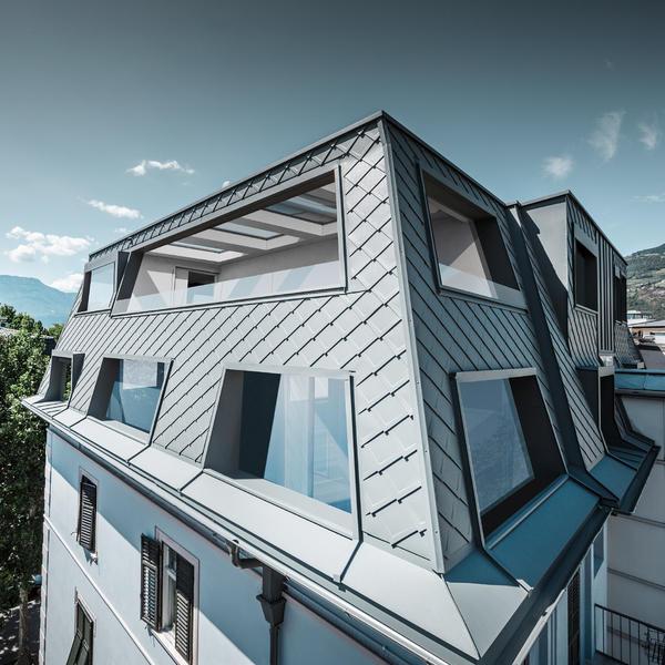 Bozen Penthouse, PREFA, k. A., by mtextur