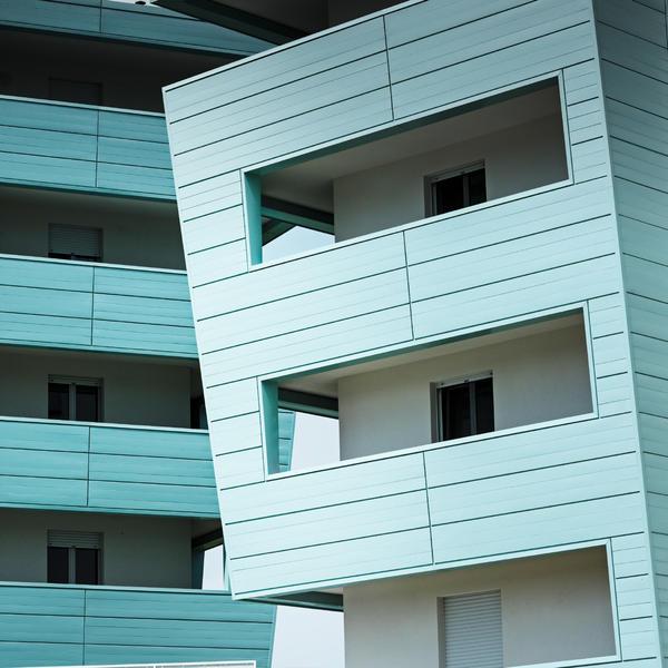 Asti Wohnhaus, PREFA, k. A., by mtextur