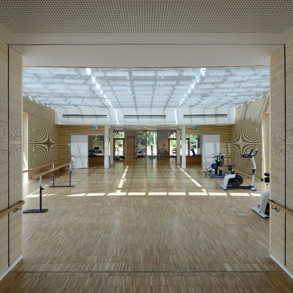 Pan Zentrum, Berlin, Topakustik, Parmakerli · Fountis Gesellschaft von Architekten mbH, by mtextur