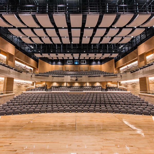 Wheaton High School, Topakustik, Grimm + Parkins Architects, by mtextur