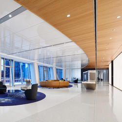 DLA Piper, Topakustik, Gensler, Chicago USA, by mtextur