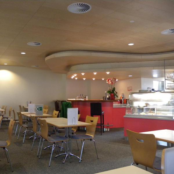 Restaurant Sole Due, Rheinfelden, Topakustik, Müller + Partner Architektur Büro AG, Rheinfelden, by mtextur