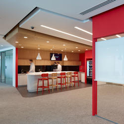 Ernst & Young, Topakustik, Perkins + Will, London, by mtextur