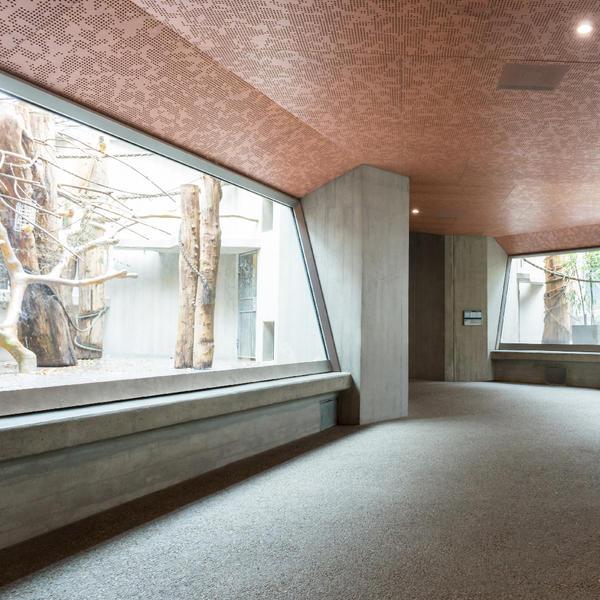 Zoo Basel – Affenhaus, Topakustik, Peter Stiner, Basel, by mtextur
