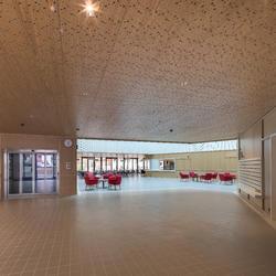 Alterszentrum Obere Mühle, Lenzburg, Topakustik, Oliv Brunner Volk, Zürich, by mtextur