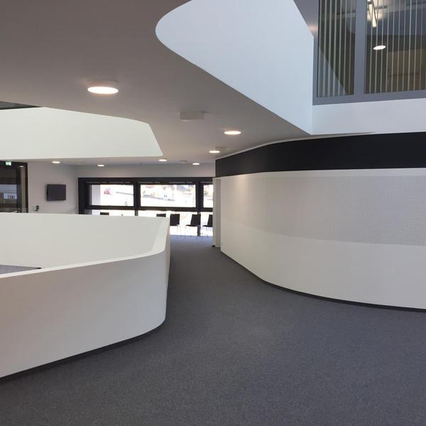 Rathaus Leonberg, Fabromont AG, Schaller Architekten DBA RIBA, D-Stuttgart Leonhard Bürogestaltung GmbH, D-Filderstadt, by mtextur