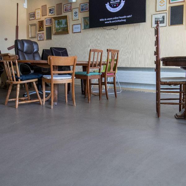 CORIVESTO Microbeton FD – Restaurant, Walo Bertschinger, k. A., by mtextur