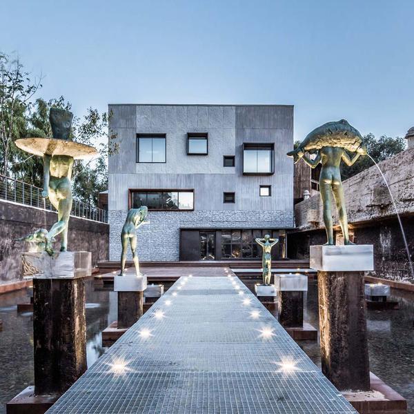 Wasseraufbereitungsanlage im chinesischen Changchun, RECKLI GmbH, W&R Micron Architecture Office, by mtextur