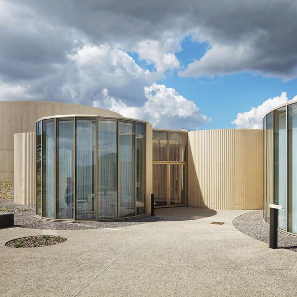 Crématorium, Amiens, France, RECKLI GmbH, Plan 01, by mtextur