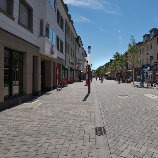 Fußgängerzone Troisdorf, KANN GmbH Baustoffwerke, FSWLA Düsseldorf, by mtextur