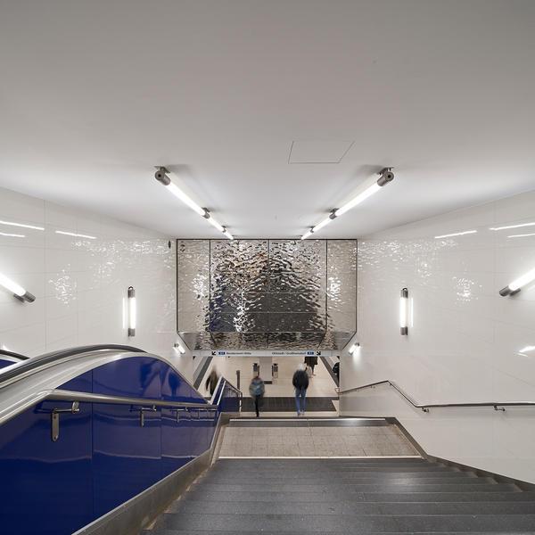 Subway station, Fielitz GmbH, WRS-Architekten, by mtextur